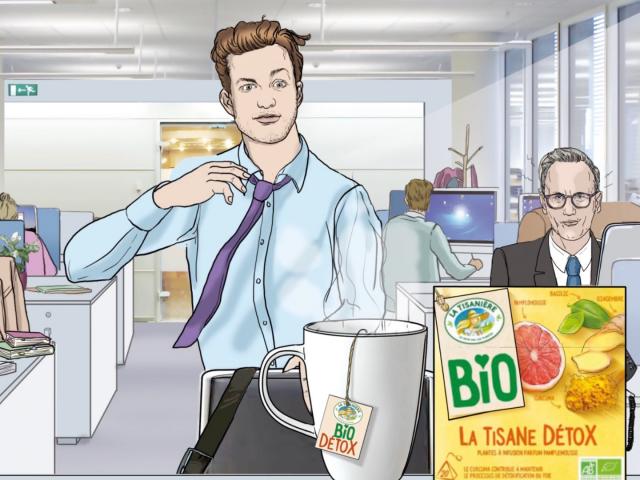 Animatic corinne nicolaoula tisaniere Agence Mil-Pat illustrateurs et roughmen
